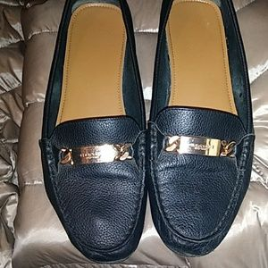 COACH LOAFERS IN BLACK